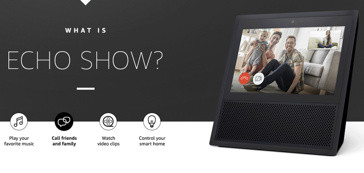 Amazon Echo Show – 스크린 포함 제품 출시 및 Skill 개발 방법